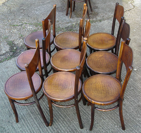... An Image Of Broadback B Bentwood Chairs ...